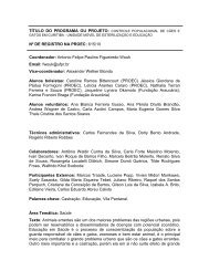Unidade Móvel de Esterilização e Educação em Saúde ... - Zoonoses
