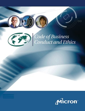 Code of Business Conduct and Ethics - Micron