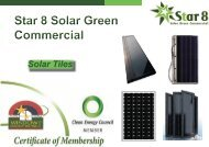 Star 8 Solar Tile, an innovative combination