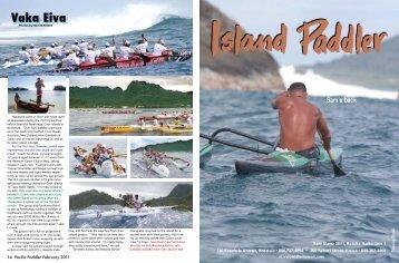 Vaka eiva - Pacific Paddler