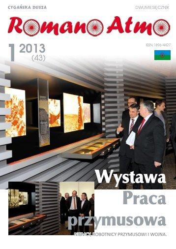 Romano Atmo 1/2013 - Związek Romów Polskich w Szczecinku