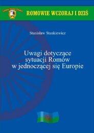 Uwagi dotyczące sytuacji Romów w jednoczącej się Europie