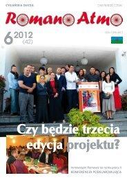 Romano Atmo 6/2012 - Związek Romów Polskich w Szczecinku