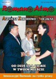Spis treści numeru 5/2009 - Związek Romów Polskich w Szczecinku