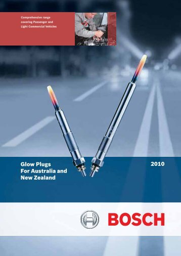 Glow Plug Catalogue 2010 - Bosch Australia