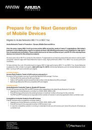 Prepare for the Next Generation of Mobile Devices - Arrow ECS