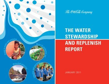 2011 The Water Stewardship and Replenish Report