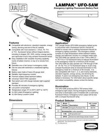 lampakar ufo 5aw dual lite?quality=85 wiring diagrams for 1 lam dual lite emergency ballast wiring diagram at alyssarenee.co