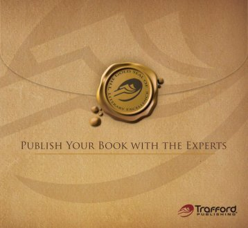 Publish Your Book with the Experts - Trafford Publishing