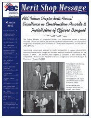 March 2012 Newsletter - ABC