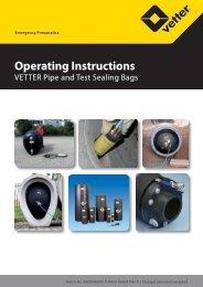 Operating Instructions - Vetter