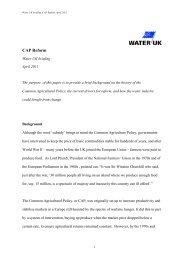 CAP Reform, Apri... - Water UK