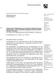 Schreiben der Bezirksregierung vom 14.12.2012 - Stadt Wuppertal