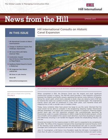 Spring 2011 Newsletter - Hill International
