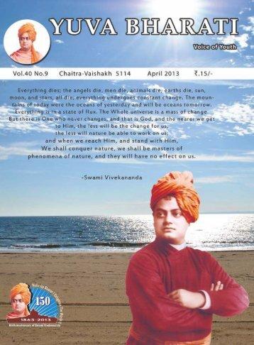 Apirl Curve.pdf - Vivekananda Kendra Prakashan