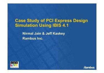 Modeling 101: IBIS