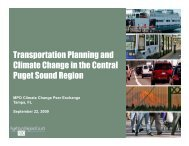 Transportation Planning and Climate Change in the Central ... - mpoac