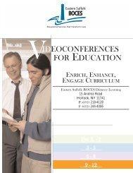 VideoConferences for Educations Grade 9-12 2006-2007
