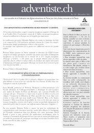 Télécharger - Fédération des Eglises Adventistes du 7e jour de la ...