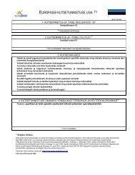 4-IV Treeneri kutsetunnistuse lisa