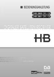Bedienungsanleitung_hb_2800_2801_crci - AustriaSat