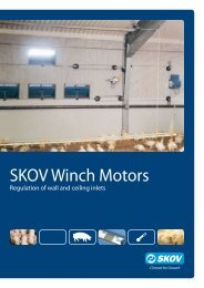 DA 174 DA 75 winch motors - Skov A/S
