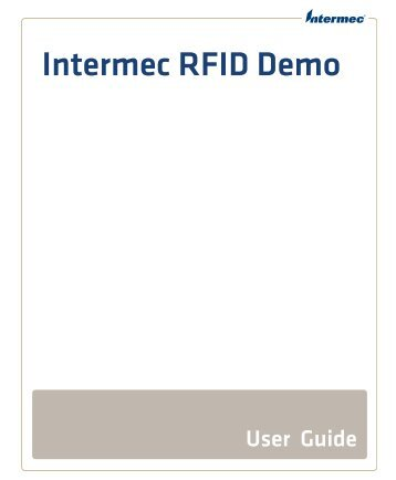 Intermec RFID Demo User Guide