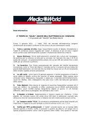"""E' TEMPO DI """"SALDI"""" ANCHE NELL'ELETTRONICA DI CONSUMO I ..."""