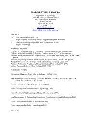 margaret bull kovera - John Jay College Of Criminal Justice - CUNY