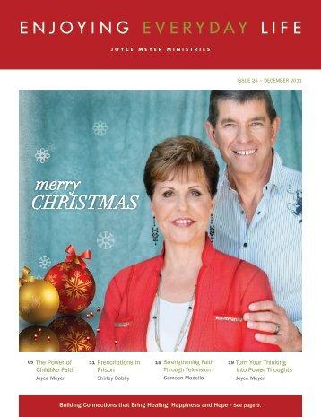 December'11 - Joyce Meyer Ministries: Asia