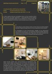 Details Apartment 12 - Ferienwohnung Bochum