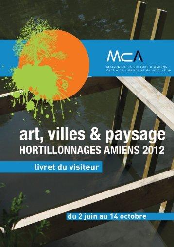 Télécharger le livret du visiteur - Maison de la Culture d'Amiens