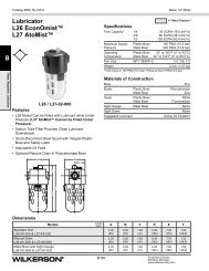 L26 / L27 ..........................B178 - Wilkerson Corporation