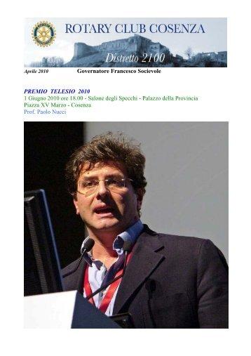 Aprile - Rotarycosenza.org