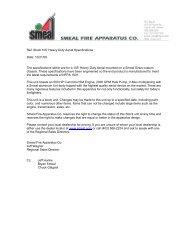 prerequisite bidding requirements - R & R Fire Truck Repair, Inc.