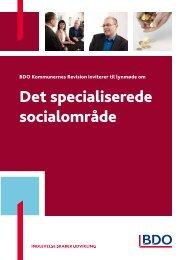 Det specialiserede socialområde - BDO