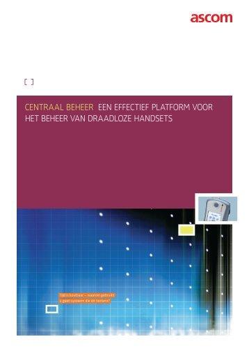 Centraal beheer van handsets - Ascom