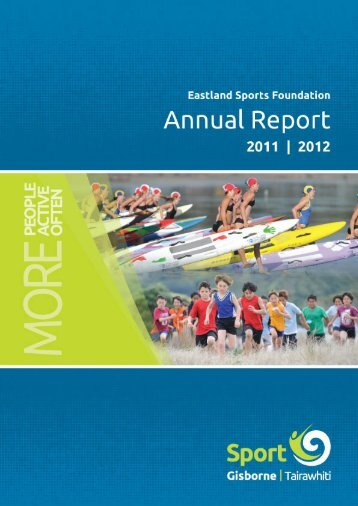 Annual Report 2011-12 - Sport Gisborne Tairawhiti
