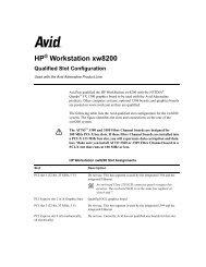 HP Z400 (Gen 2) - Avid