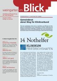 Ausgabe 13/2013 - Weingarten im Blick