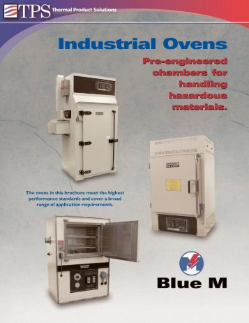 Blue M Safety Ovens - MHz Electronics, Inc