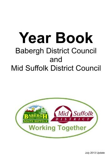 Year Book - Mid Suffolk District Council