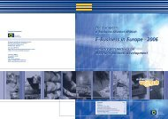 E-Business in Europe · 2006 E-Business in Europe · 2006 - Umic