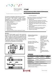 (17AM series (PDF file)) - Sensata