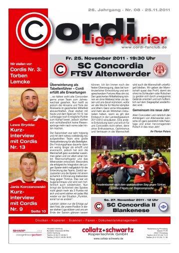Liga-Kurier 2011/2012 #9 Altenwerder