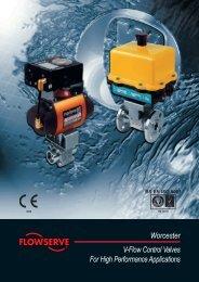 Worcester V-Flow Control Valves For High Performance ... - Fagerberg