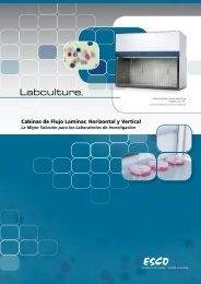 Cabinas de Flujo Laminar, Horizontal y Vertical - Esco
