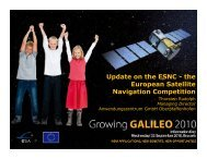 Satellite navigation expanding into new markets - European GNSS ...