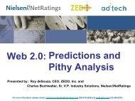 Web 2.0:predictions and Pithy Analysis