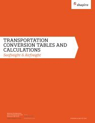 Transportation Conversion Tables.indd - Samuel Shapiro and Co., Inc.